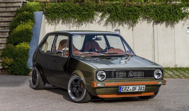 Volkswagen Golf Mk1 Kevlar Turbo On Oz Futura Wheels Vw