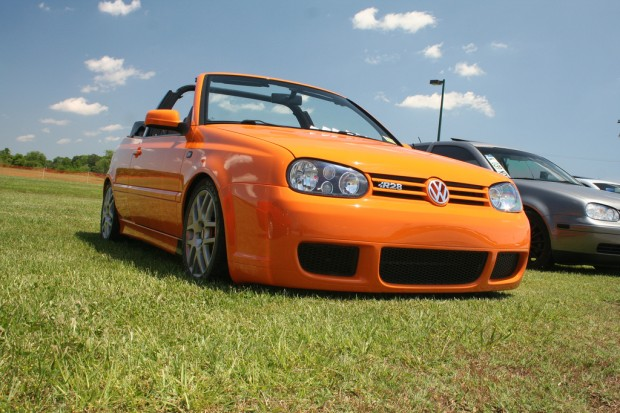 orange vw golf mk3 cabrio vw golf tuning. Black Bedroom Furniture Sets. Home Design Ideas