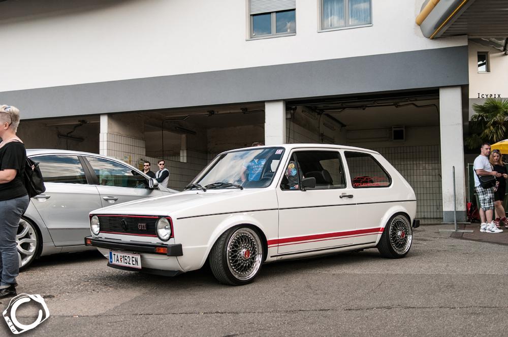 white Golf Mk1 image