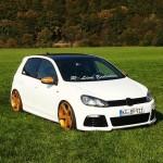 White VW Golf Mk6 – Ben Nutella-Jo Vogelinho