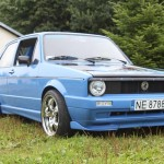 Blue Volkswagen Golf Mk1 – Artur Kowalczyk