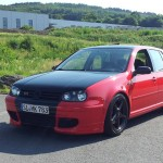 Red & black VW Golf Mk4 GTI – Marc Ki