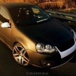 Matte black VW Mk5 – Travis Naidoo
