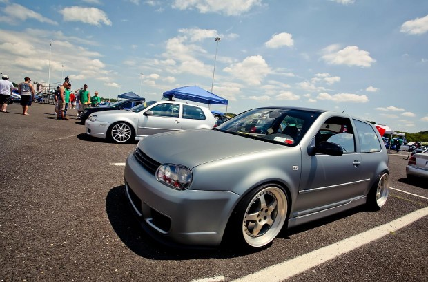 Matte Silver Vw Golf Mk4 Vw Golf Tuning