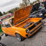 Orange VW Mk1 on BBS rims