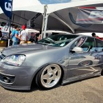 VW Golf Mk5 on 5 star silver wheels
