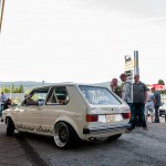 White Classic VW Mk1