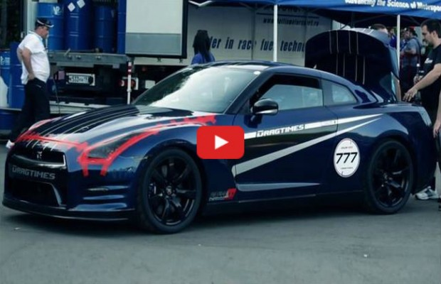Video 1700hp Ams Nissan Gt R Hits Top Speed Record 382