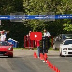 Video: Ferrari's V8 Battles Ford's V8 and Audi's V10 on the Strip