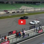 Video: Mercedes-Benz SLS AMG lines up against Lamborghini Aventador