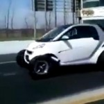 Video: Smart ForTwo Dragster Tears Up The Track
