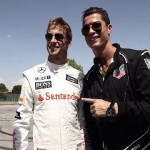 Video: Cristiano Ronaldo and Jenson Button drive McLaren P1