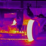 Video: Thermal video of a F1 car melting tires is the best thing you'll see today