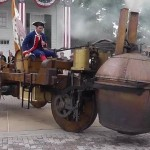 Video: The first self-propelled vehicle was ungainly beyond belief