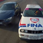 Video: 2015 BMW M3 vs. E30 M3 DTM at Hockenheim