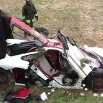 Video: The aftermath of the McLaren F1 crash is worse than the accident