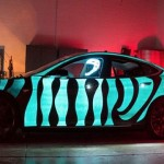 Video: Tesla Model S Glows Thanks to Electroluminescent Paint