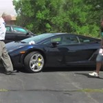 Video: Czech pranksters learn to not screw with someone's Lamborghini