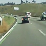 Video: More bad driving! Watch this Citroen run a Taxi off of the road in Brazil