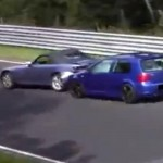 Video: VW Golf 4 R32 smacks into Honda S2000 at The Ring