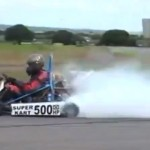 Video: This 500-hp turbo go kart defines true fear