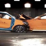 Video: Look what happens when a smart ForTwo crashes head-on to S-Class