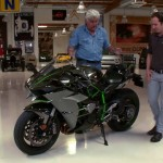 Video: Jay Leno meets the insane, supercharged Kawasaki Ninja H2