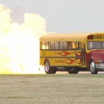 Video: American hero builds 367-mph jet school bus to keep kids off drugs