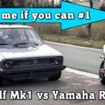 VW Golf Mk1 1056HP vs Yamaha R1 182HP street race