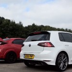 Can The Civic Type R Hunt Down The VW Golf R In A Drag Race?