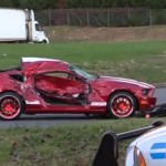 Another day, another video of a crash involving someone showing off at a car show. Don't be that guy!